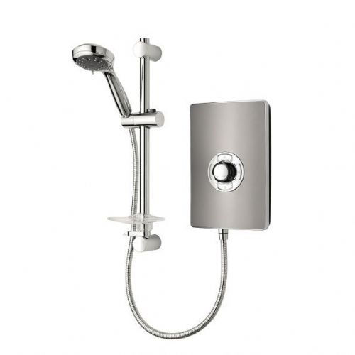 Aspirante Electric Shower Gun Metal 9.5Kw